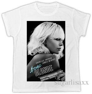DEBBIE HARRY ATOMIC BLONDIE POSTER COOL DIVERTIDO IDEAL REGALO CAMISETA UNISEX HOMBRE