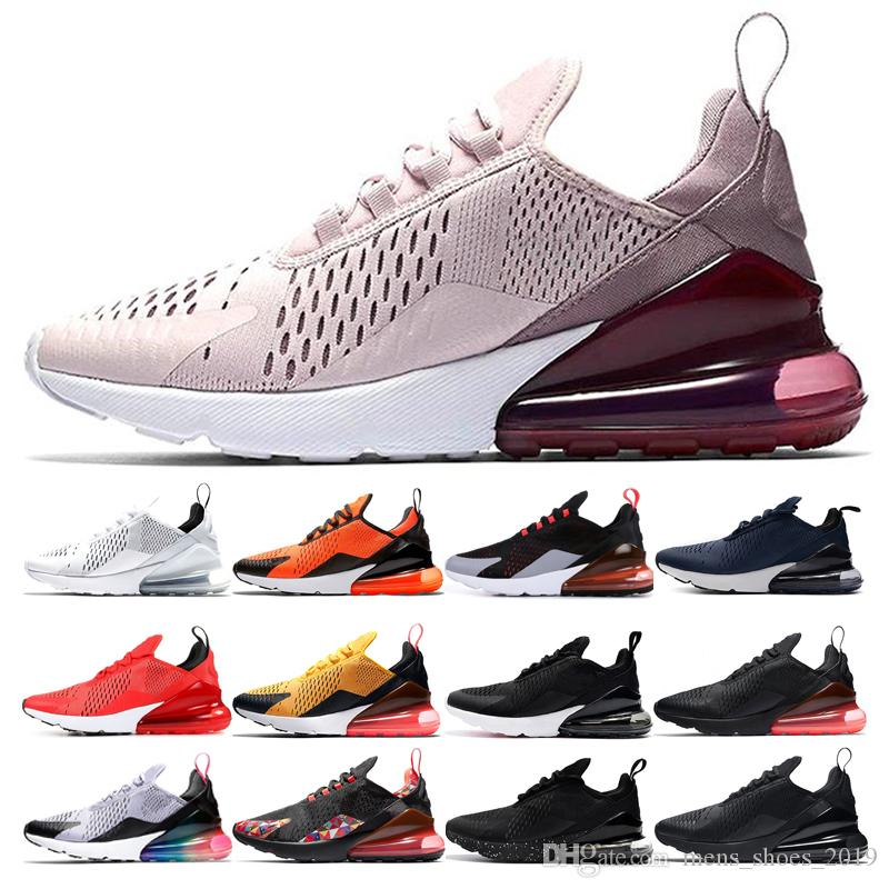 nike air max 270 shoes Top Hombre Mujer BARELY Rose Running Shoes diseñador Core White Be true CNY Teal Total Orange Triple Black Hot Punch Trainer