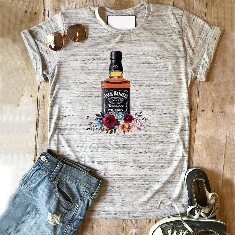 9c7622476 Jack Daniels Shirt Beer Tshirt Succulent Top Drinking Tee Summer Print  Clothes Floral Vintage Tops Gothic Graphic Tees Women Formal Shirts Denim  Shirts From ...