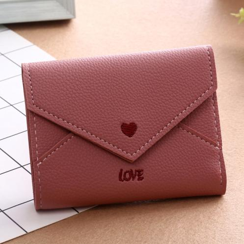 Short Women Wallets Lady Purse Good Quality Id Cards Holder Brand