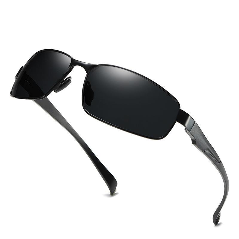 8dd67019296ca 2019 Semi Rimless Polarized Sunglasses Men Mirror Driving Sun Glasses High  Quality Retro Lunette De Soleil Homme Men Glasses Tifosi Sunglasses Cheap  ...