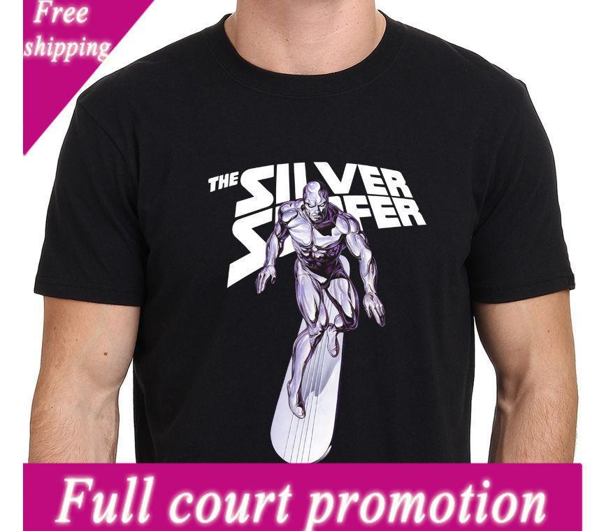 e952f4759 Silver Surfer Marvel Super Hero Mannen T Shirt Maat: S M L XL XXL T Shirts  Casual Merk Kleding Katoen Retro Top Tee Dirty T Shirts Graphic Tee Shirts  From ...