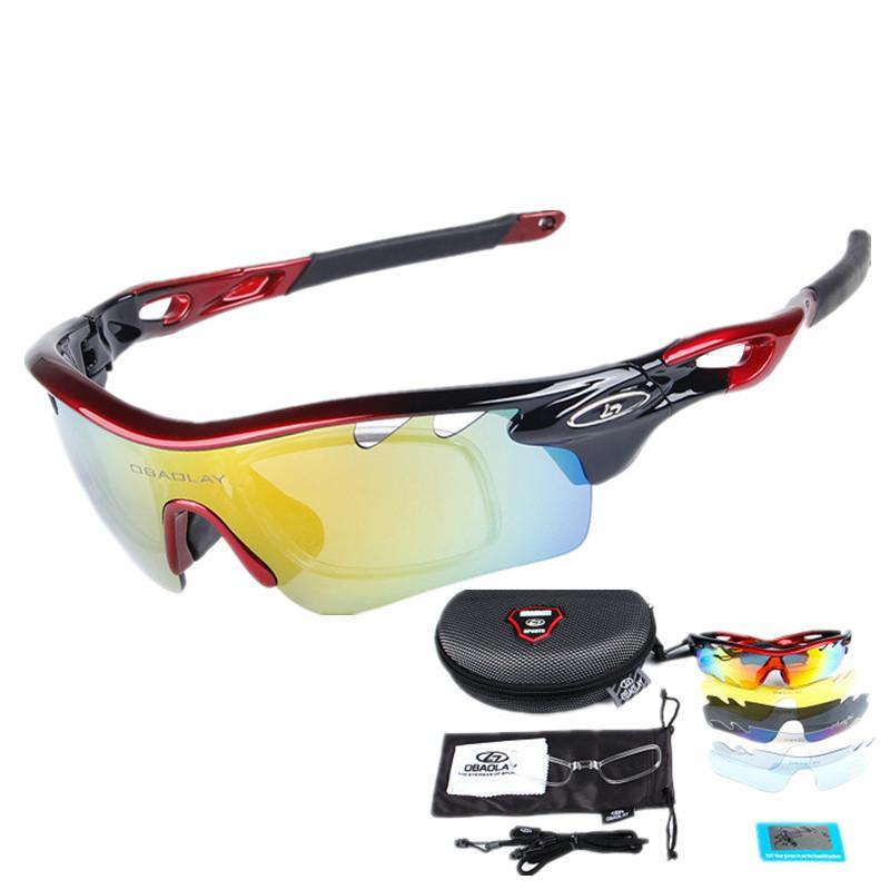 c876781e81 2019 2019 Polarized Cycling Sunglasses UV400 MTB Bike Glasses Men Women  Sports Bicycle Eyewear Goggles With 5 Lens Myopia Frame From Jumeiluo
