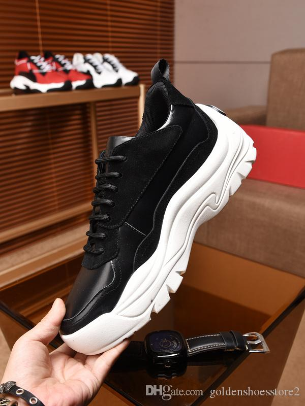 eaf487b2b3155 Garavani Shoes Mens Chunky Sole Sneakers Low Top 0BO WHITE ICE Bounce In  Calf Leather Womens Side Logo Cheap Online Sale QY0S0B17VRN 0NO Leopard  Print Shoes ...