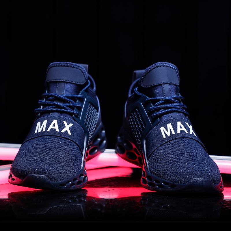 9995bd73b05 Men Sport Running Shoes 2019 Brand Spring Summer Breathable ...