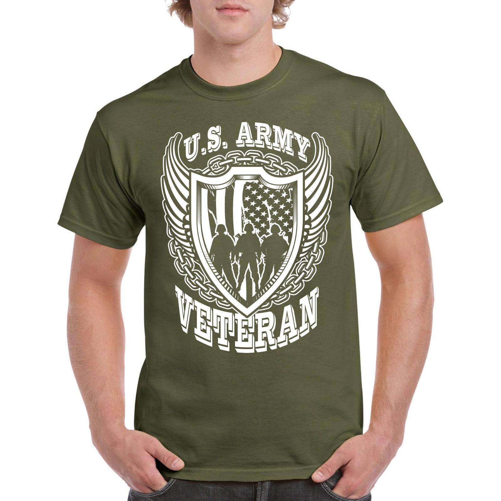 Veteran T Shirt US Army Tee S Navy Military Tee War Hero Iraq Vet Tshirt  Funny Unisex Casual Tshirt Clothes T Shirt Crazy T Shirts Designs From  Blue water 479fe37463b