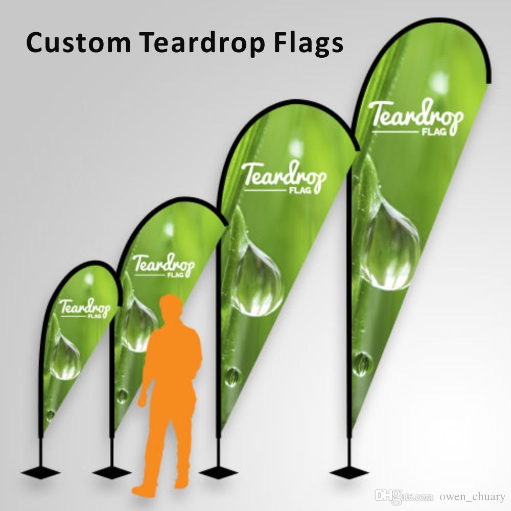 Free Ship Graphic now Custom Beach Flag Swooper Flying Flag Custom Knitted Polyester Banner Teardrop Flag Promotion Hotsale Digital Print