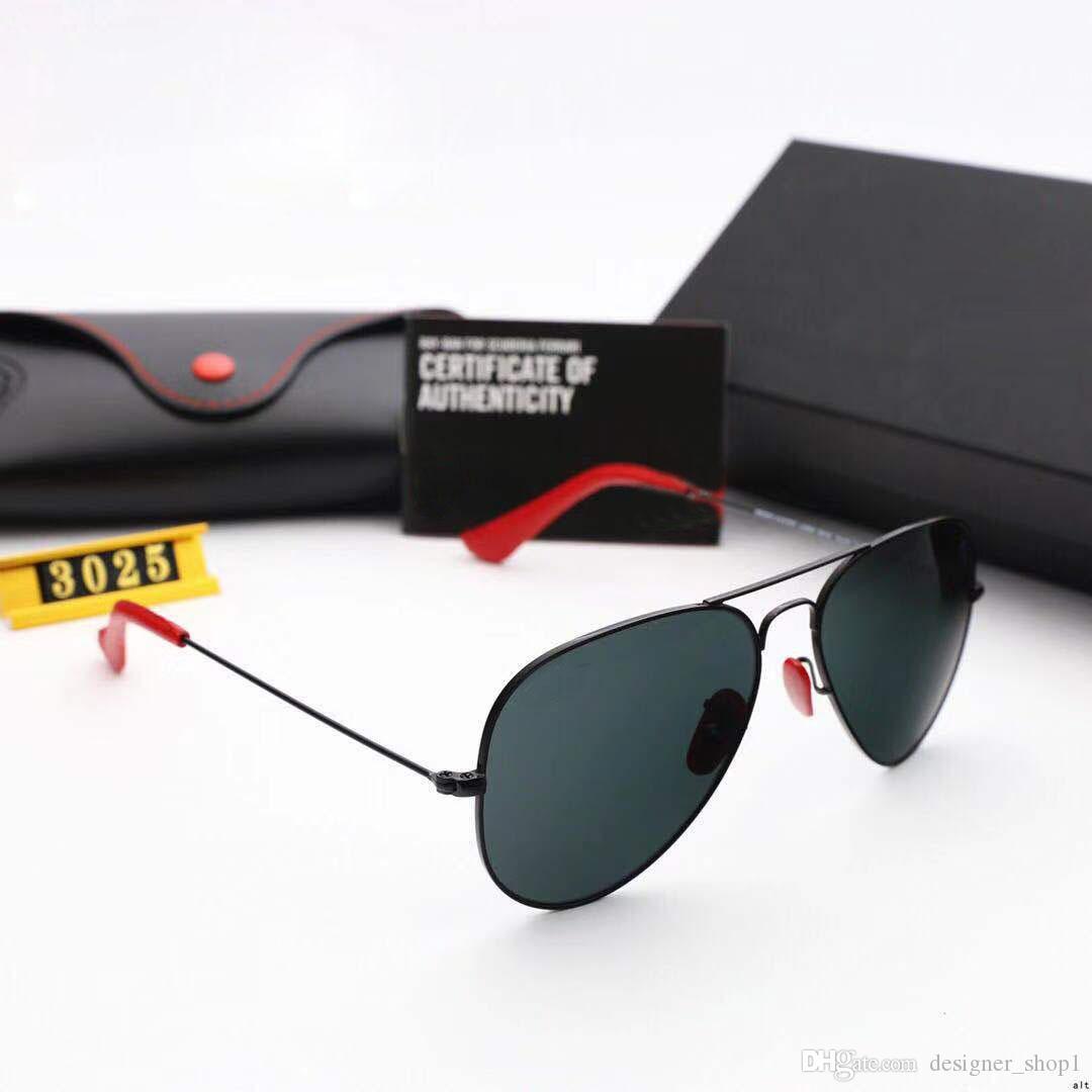 cf82aa1ad8 Compre RayBan RB3026 Cool Retro Gafas De Sol De Mujer 2019 Marco De  Aleación Polygon Shades Señoras Diseñador De La Marca De Conducción Gafas  De Sol Mujer ...