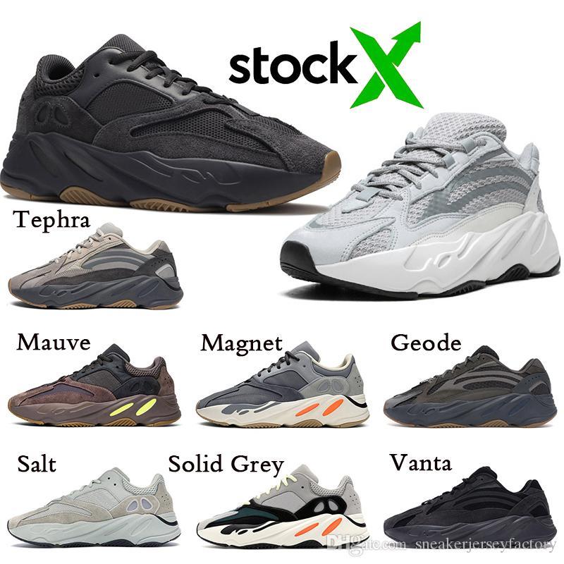 2019 neue adidas YEEZY 700 V2 BOOST Kanye West Static 3M schwarz und weiß blau Herren und Damen, Schuhe, klassische Turnschuhe, Laufschuhe, bequeme