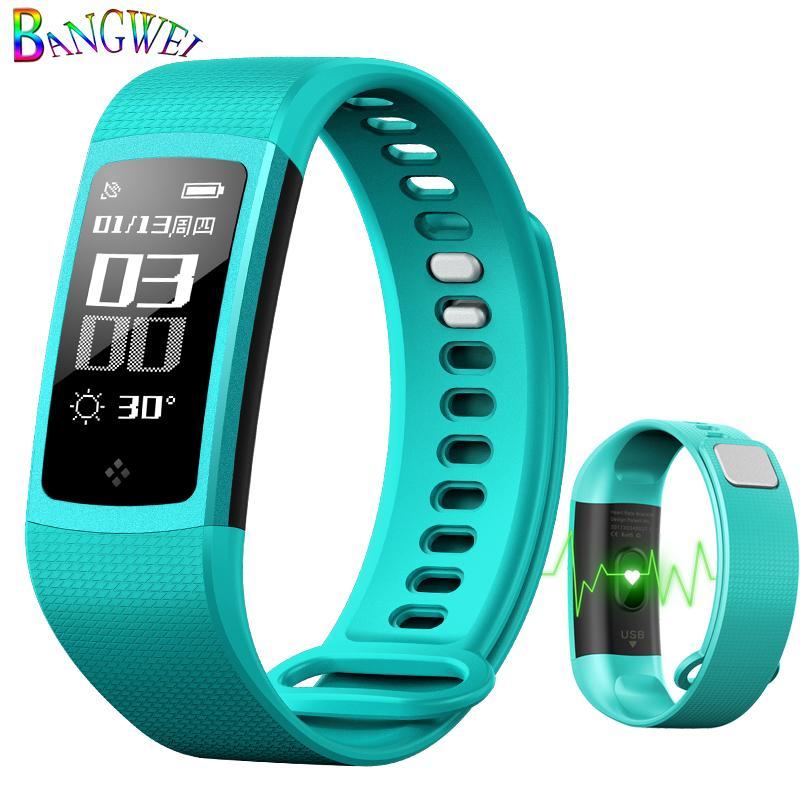 Digital Watches Bangwei Smart Watch Women Men Heart Rate Blood Pressure Monitor Sport Fitness Tracker Smart Wristband Watch Pulseira Inteligente Watches