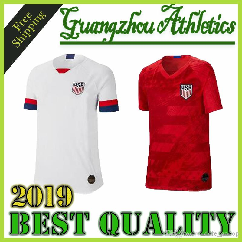 bc4effcb1 2019 Gold Cup 2019 America Home Away USA Soccer Jersey 2019 Copa America  United States Soccer Shirt USA Men Football SHIRT Uniform From Dofe_gohop,  ...