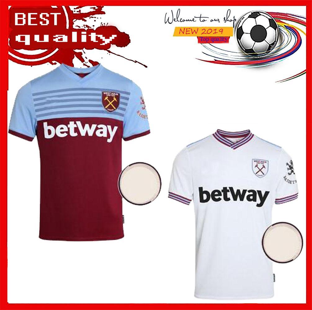 5112e4d4be4 West Ham 19 20 Camiseta De Fútbol De West Ham United 2019 2020 En ...