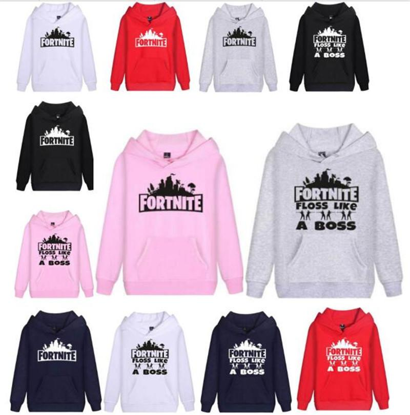 0659f79cc Fortnite Unisex Fleece Hoodie Sweatshirt Men Women Autumn Winter ...
