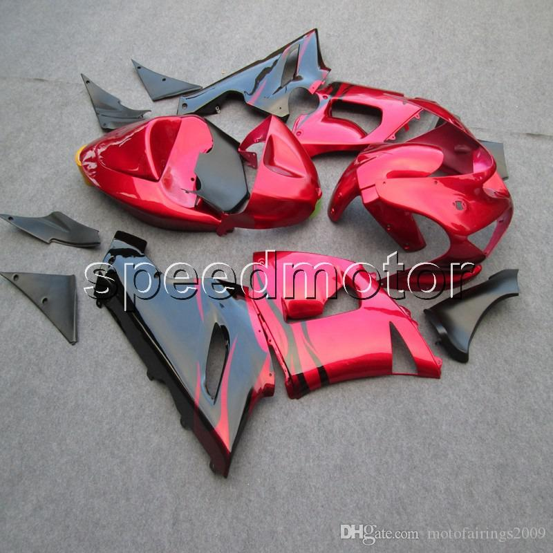 23colors+Gifts red black motorcycle Fairings for Kawasaki ZX6R 2005 2006 ZX 6R 05 06 ABS Motorcycle cowl
