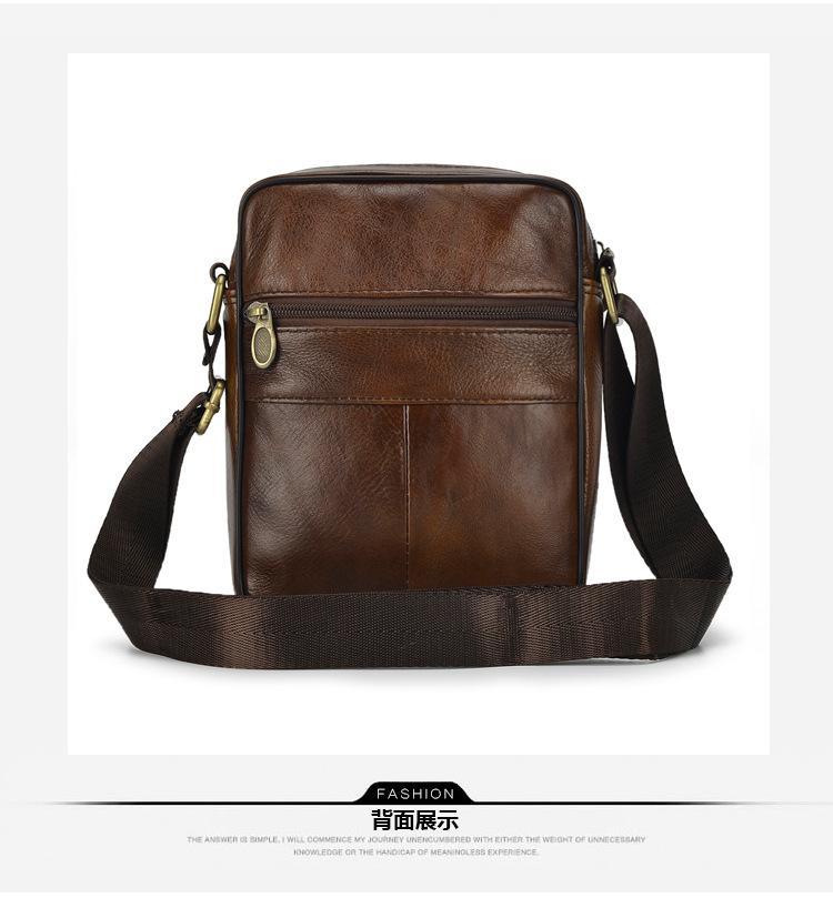 74798bb0483 2019 New Arrival Men Vintage Fashion Genuine Leather Shoulder Bag Messenger  Bag Cross Body Shoulder Bags Leather Bags From Diyplant, $22.54  DHgate.Com