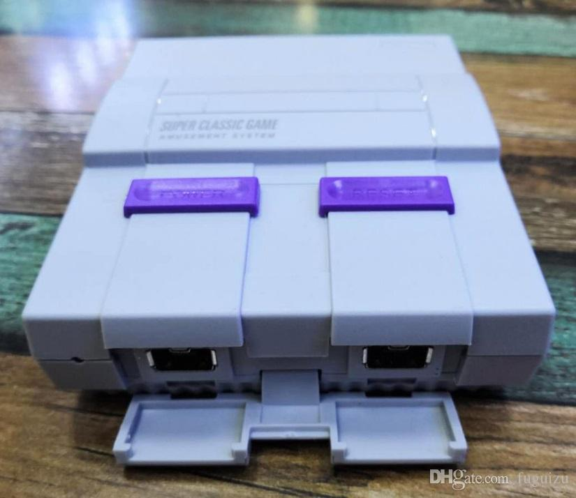Super Clássico SFC TV Handheld Mini Consolas mais novo Entertainment System Para 660 SFC NES SNES Games Console transporte da gota livre