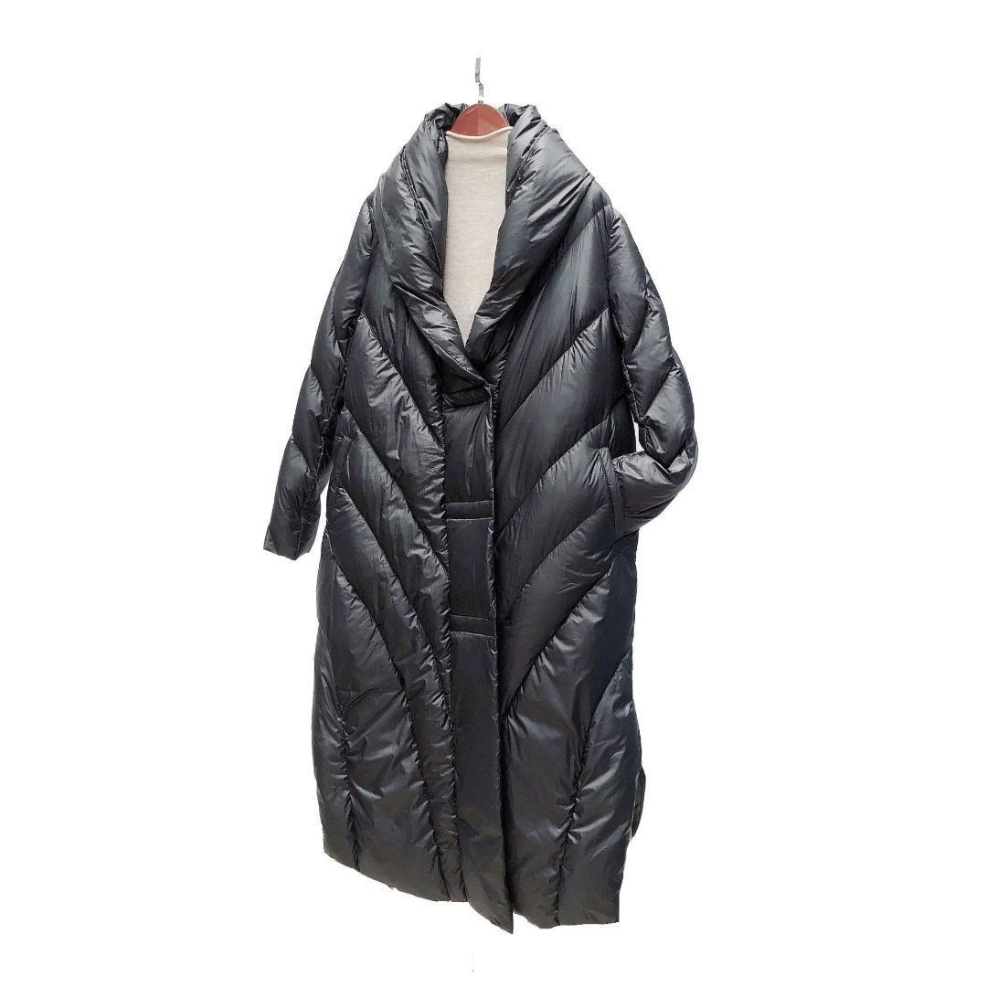 finest selection 02a13 4764d Piumini media lunghezza Design modelli Donna Sezione lunga giù Ispessimento  Fibbia magnetica Abbigliamento da montagna Abbigliamento invernale