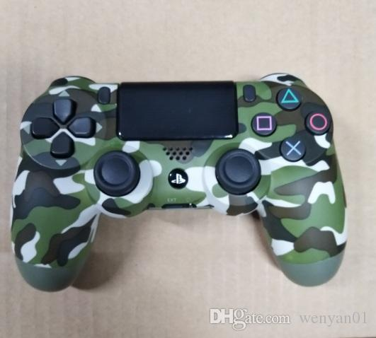 DHL Camouflage Green/Grey PS4 Wireless Bluetooth Game Gamepad SHOCK4 Controller Playstation For Sony PS4 Controller with retail box