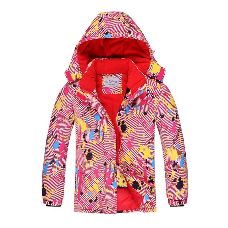 fe715bcd3 OLEKID 2019 Children S Winter Jackets Windproof Waterproof Girls ...