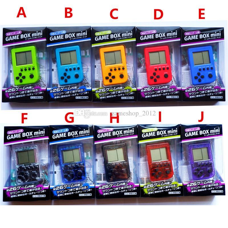 Compre 2018 Palmtop Mini Consola Electronica De Juegos Tetris Juego