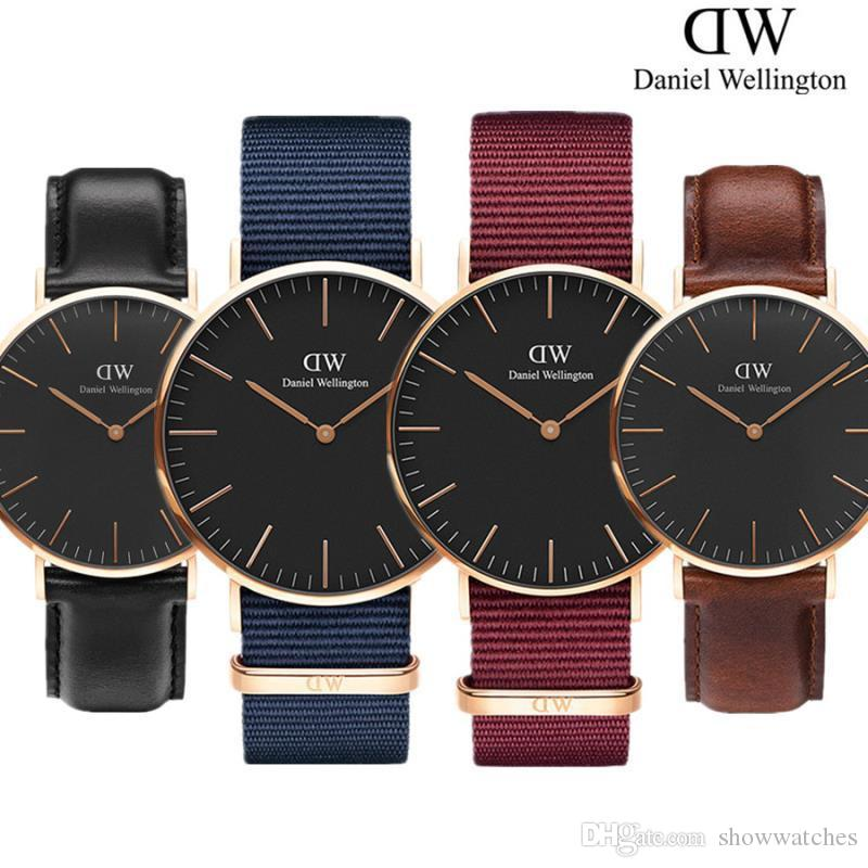 67e614d97d59 Fashion Daniel Wellington Watch Mens Womens Unisex Quartz Watch And Classic Dw  Bracelet For 36 40 32MM Rose Gold Silver Men Women Watches Low Price Watches  ...