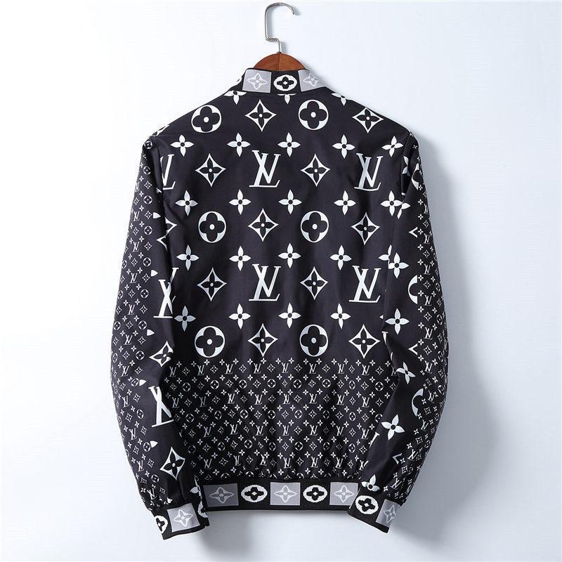 Uomini Designers Giacca con cappuccio Giacche Uomo Moda stampa del modello Giacca a maniche lunghe Zipper all'aperto Windbreaker inverno Streetwear Coat LG1314