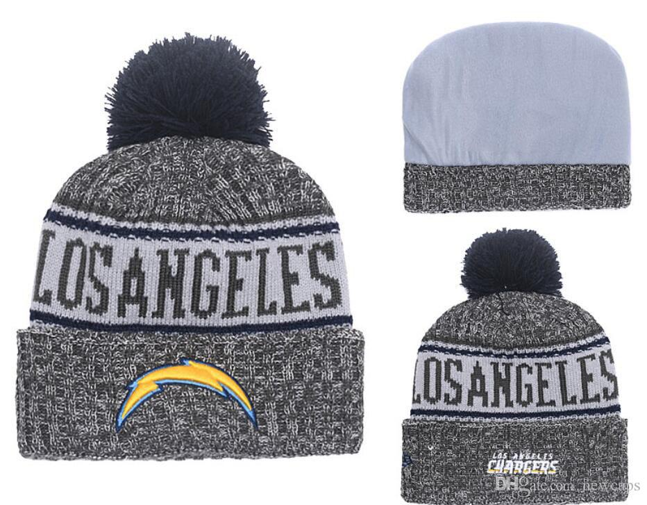 Wholesale Los Angeles Sport Winter Hats Chargers Stitched Team Logo Brand  Warm Men Women Hot Sale Knitted Caps Cheap Mixed Beanies Vintage Baseball  Caps Cap ... 5a1e0c6b4f3