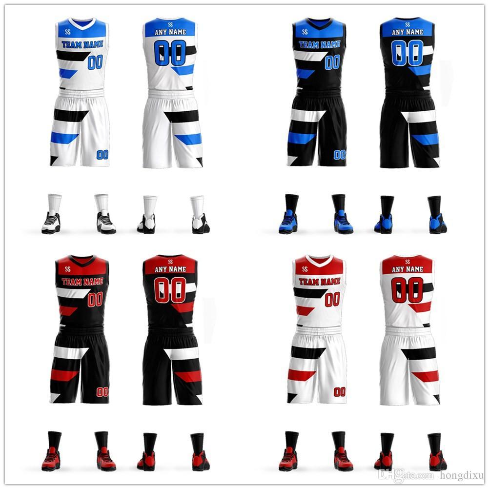 9f991033bd6 Men Youth kids new style sublimation custom basketball jersey Cheap  basketball sets uniform