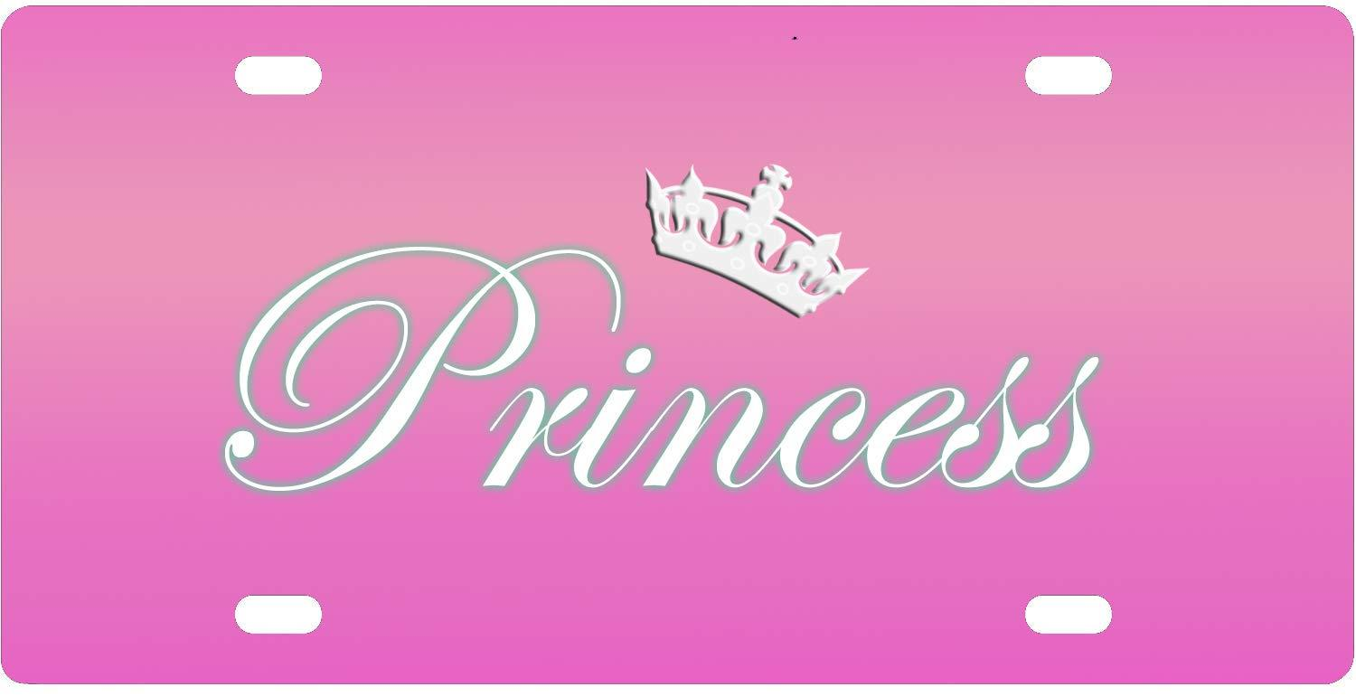 Personalized Front License Plates >> 2019 Bernie Gresham License Plate Cover Princess Personalized Custom