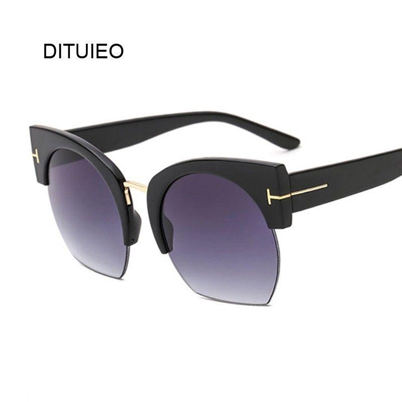 959b198e15ee Oversized Sunglasses Women Brand Vintage Sun Glasses Female Shades ...