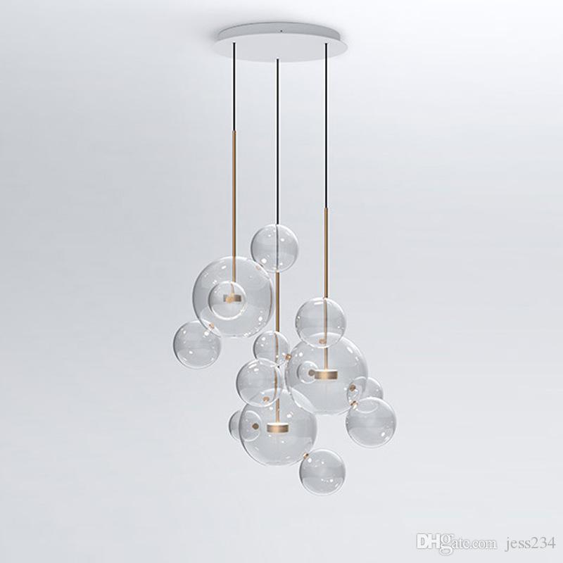 Lampe Bulle Acheter Clair Led Moderne Verre Suspension Savon jqSVUzMpGL