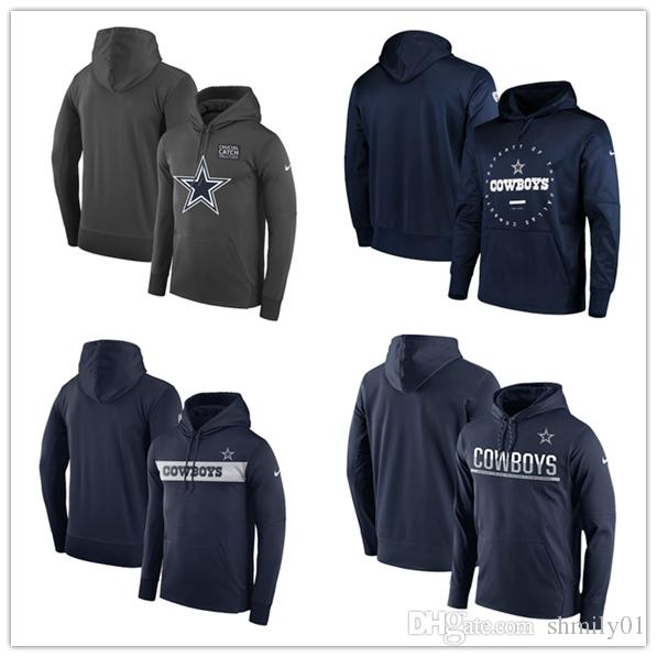 d433a8f6 Men's Sports Dallas new Cowboys jersey fashion movement Women's Crucial  Catch Performance Pullover football Hoodie