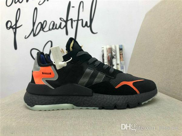 cecb19e32 2019 Hot Sale Nite Jogger Boot Casual Running Shoes for Mens Black Red  Chaussures Classic Fashion Sports Sneakers Nite Jogge Casual Shoes Running  Shoes ...