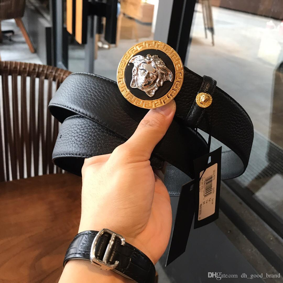 616480e7 Top Men's Belt, Luxury Fashion, Men's Genuine Leather Belt, Women's ...