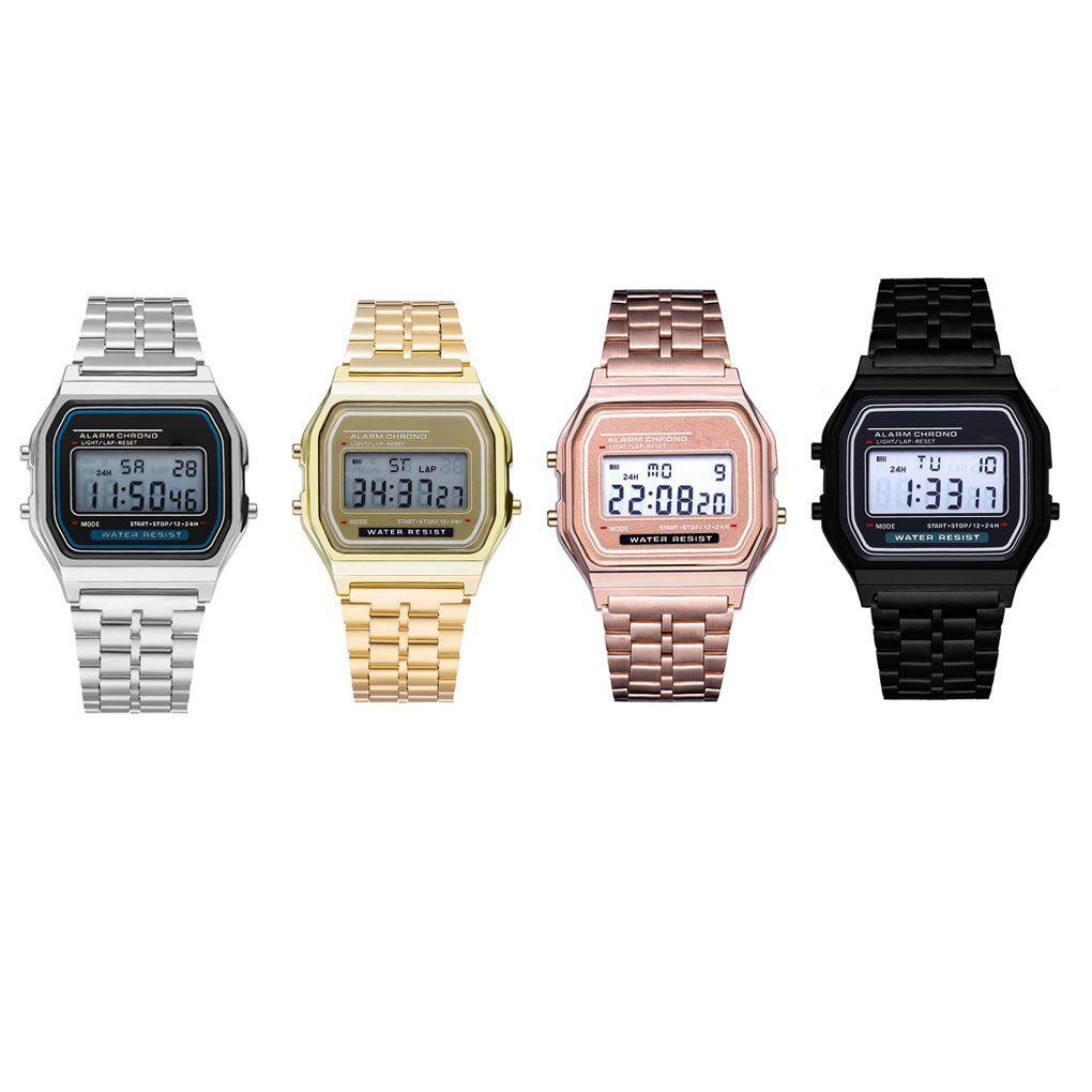 d7b19fe514ca Relojes Baratos Niños Luminoso Digital Reloj De Pulsera Estudiante Deporte  Banda Correa Reloj Reloj Chica Niña Sueño Alarma Celulares Usados Por Jeha