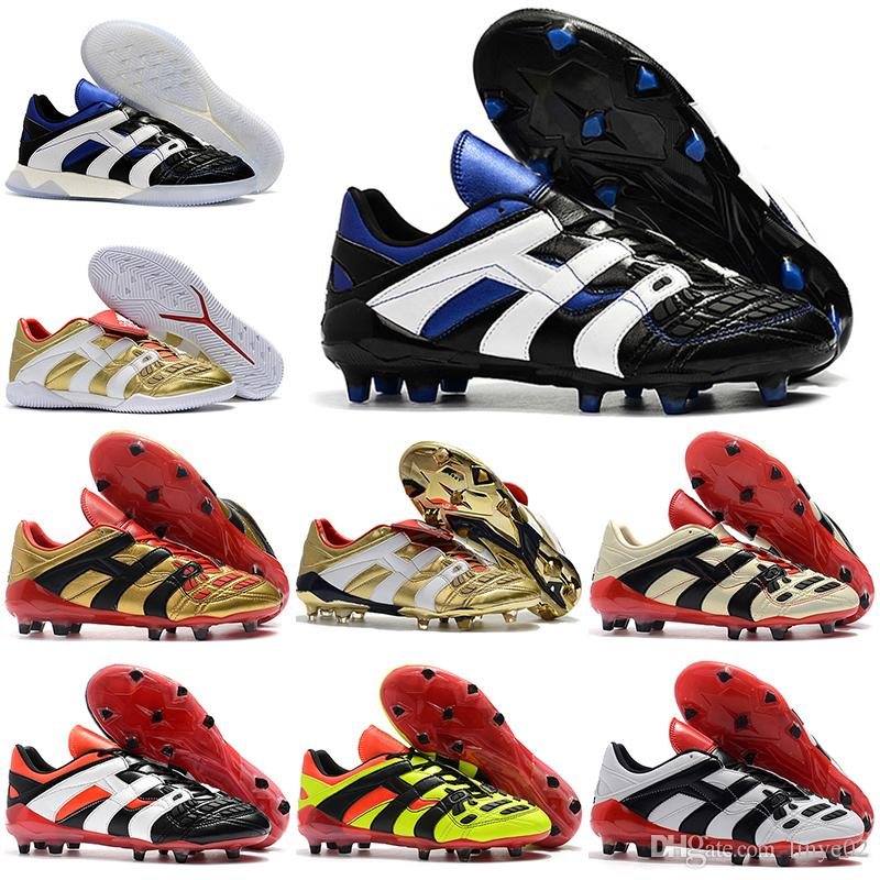 b07851fba509 New Mens Football Boots Predator Accelerator Firm Ground ZINÉDINE ...