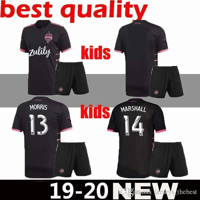 new concept 6241a 66f73 Kids kit 2019 2020 Seattle Sounders FC AWAY Soccer Jersey 19 20 MLS RUIDIAZ  MORRIS LODEIRO MARSHALL Football Shirt best quality