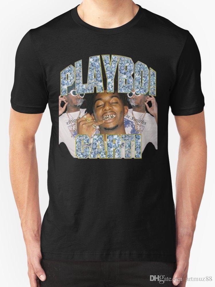a55666f9e New Playboi Carti Vintage Hip Hop Tee Shirt For Men'S Size S 5XL Tee ...