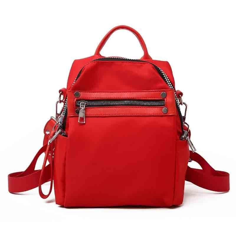 3622b98963 Women S Nylon Solid Color Sleek Minimalist Design Lightweight Backpack Large  Capacity High Quality Girl Sweet Cute Backpack Jansport Big Student Backpack  ...