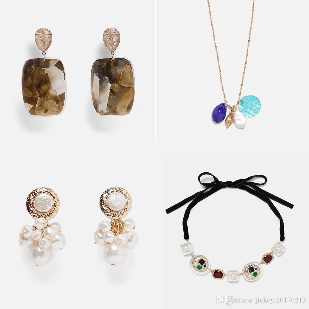 1093dd90e 2019 Best Lady Fashion Za Dangle Drop Earrings For Women Wedding Gift Hot  Bohemian Multi Color Statement Jewelry 19 Styles Wholesale From  Jiekeyi20170213, ...