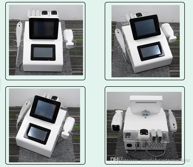 DOPPELTE HIFU 2 IN 1 tragbare HIFU-Maschine Liposonix Fact Reduziert den Gebrauch von HIFU-Spa-Kartuschen für das Facelifting