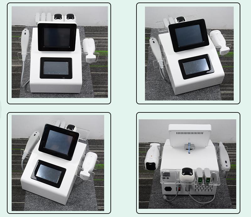 Face Lifting Machine Liposunic Hifu viso più sottile 2 in 1 hifu lifting lift uso macchina spa liposonix