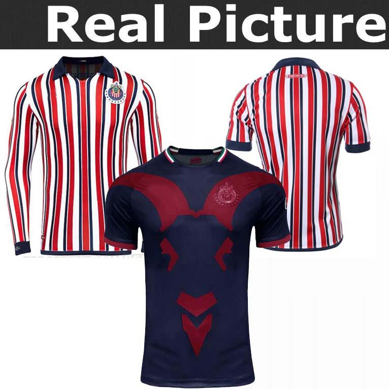 2019 New 2018 Chivas De Guadalajara Third Jerseys World Cup Soccer Jerseys  Long Sleeve Kit 110 Year 2019 MEXICO Club A.PULIDO Football Shirts From  Cr2018 fa083af7e