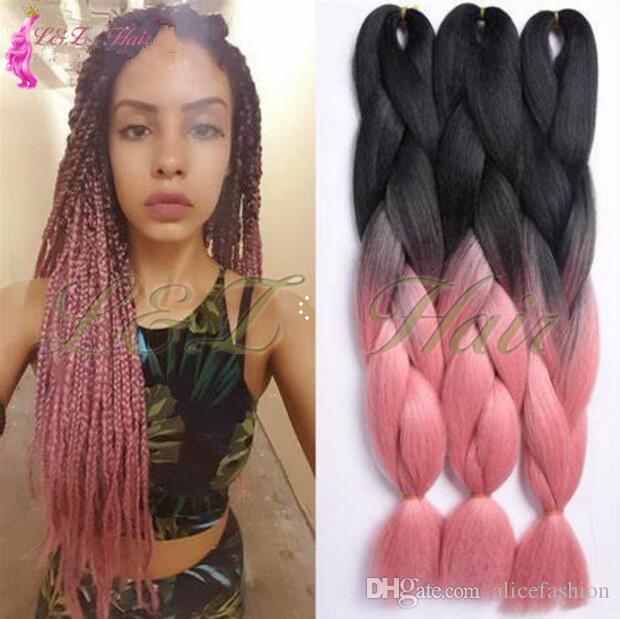 2019 Hair Xpression Crochet Braids Synthetic Yaki Afro Braiding Hair
