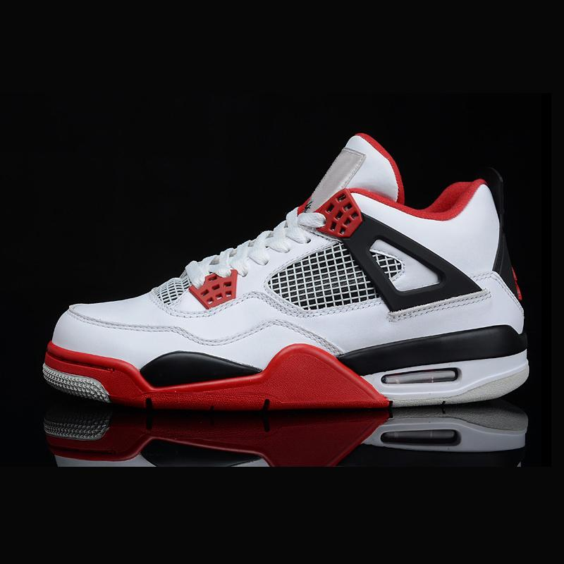 612303458938f4 2019 Cheap Retro Mens Fashion Designer Outdoor Shoes Sneakers 4s 6s  Chaussures 4 6 White Black Red Basketball For Sale From Kevinjersey