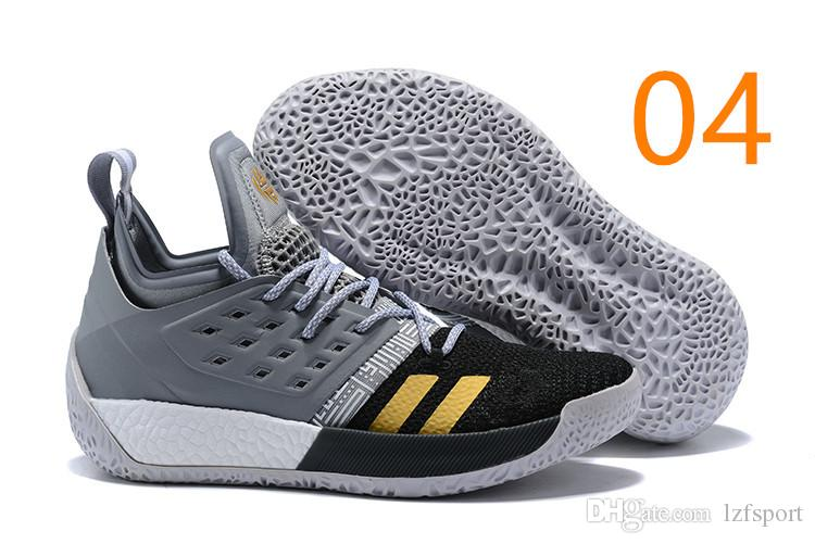 b9acdf22e23d 2019 Hot Sale James Harden Vol 2 Basketball Shoes Black Blue White Grey  Mens Harden Vol.2 Sneakers SIZE US7 11.5 Lzfsport From Lzfsport