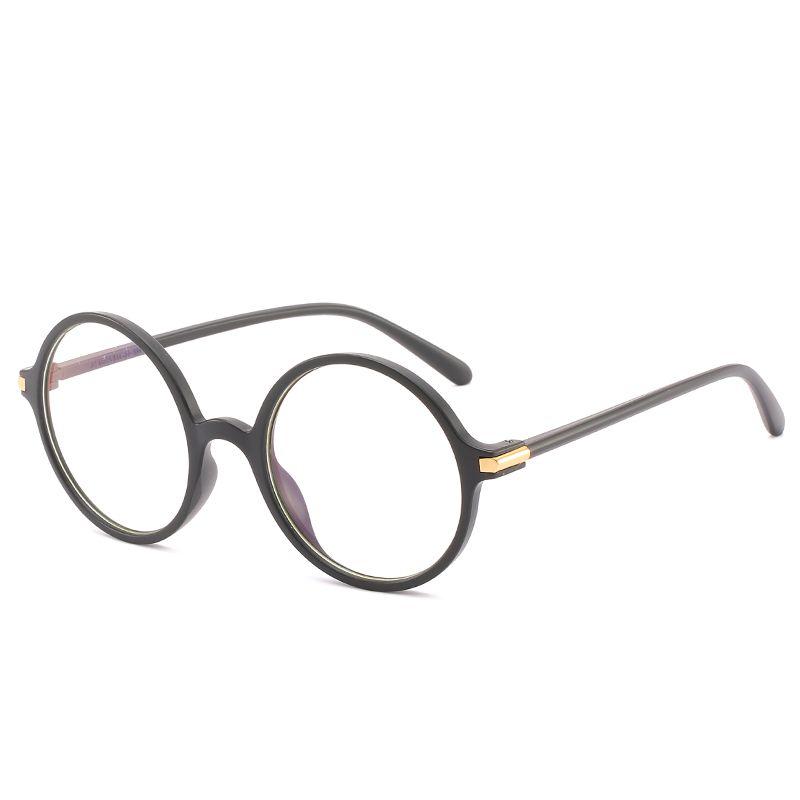 03ef8fc3a43 Women Men Round Glasses Frame Female Brand Designer Gafas De Sol ...