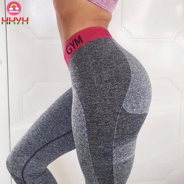 ccc042648ff NEW Fashion Patchwork Slim Women Leggings Fitness Workout High Waist ...