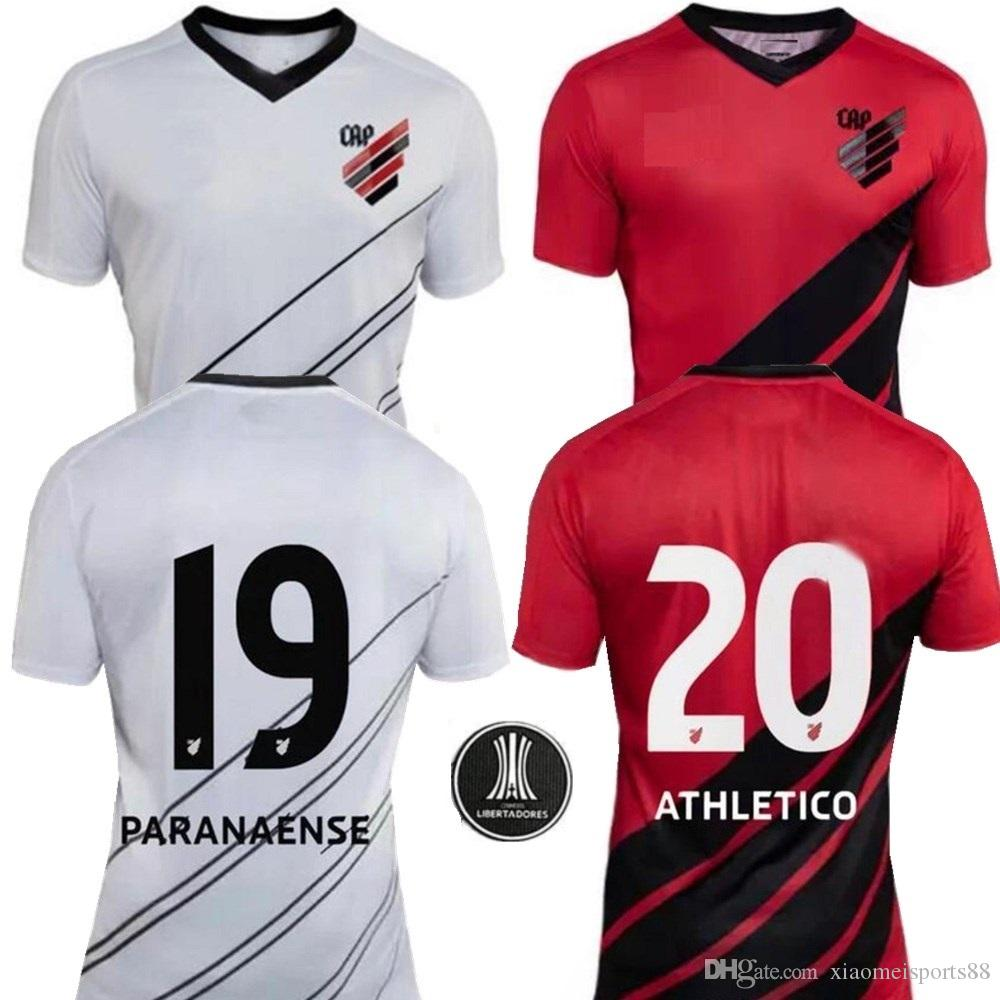 b0b16535dec 2019 2019 Atletico Paranaense Soccer Jersey 19 20 Atletico Paranaense Home  Red Away White Soccer Shirt Short Sleeve Football Uniform From  Xiaomeisports88