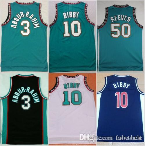 c19ad036880 ... release date 2019 memphis new 50 bryant reeves grizzlies basketball  jersey men 10 michael mike bibby